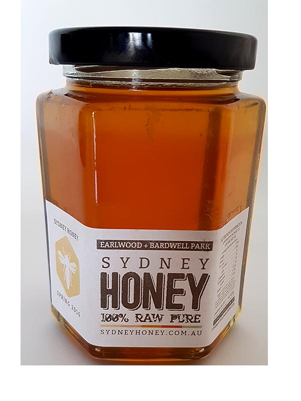 Sydney Raw Honey 420g   Save Our Bees Australia